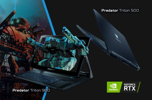 Peluncuran Dua Laptop Gaming Inovatif, Predator Triton NVIDIA RTX Series!