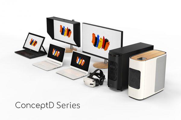 Mengenal Jajaran ConceptD Series yang Dirancang untuk Kreator