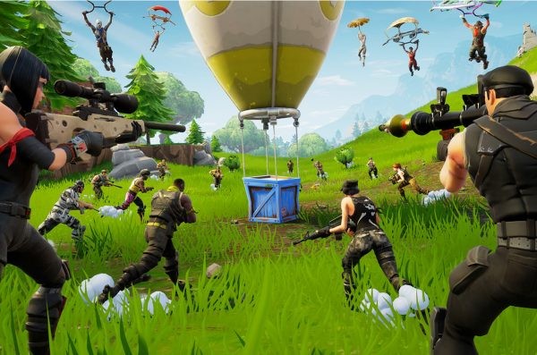 Game Fortnite isi Bermain Agresif