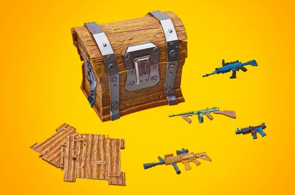 Game Fortnite isi Chest