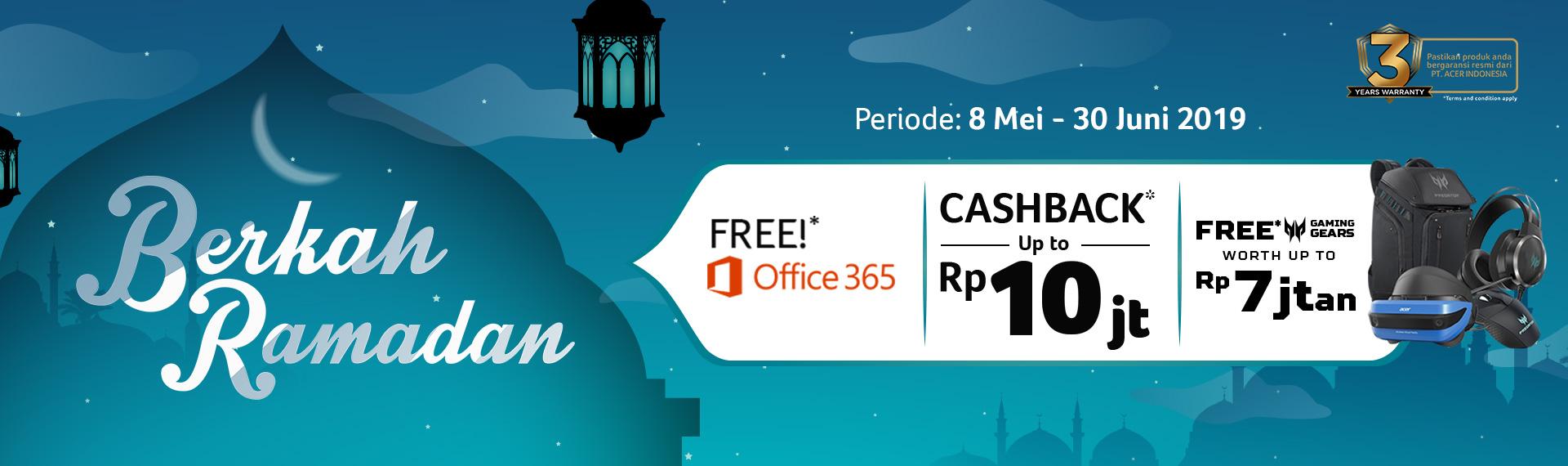 Fantastis! Acer Hadirkan Promo Berkah Ramadan, Berikan Cashback Hingga Rp10 Juta dan Bonus Gaming Gears Hingga 7 Jutaan Rupiah!