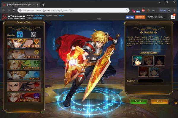 Game Website isi platform