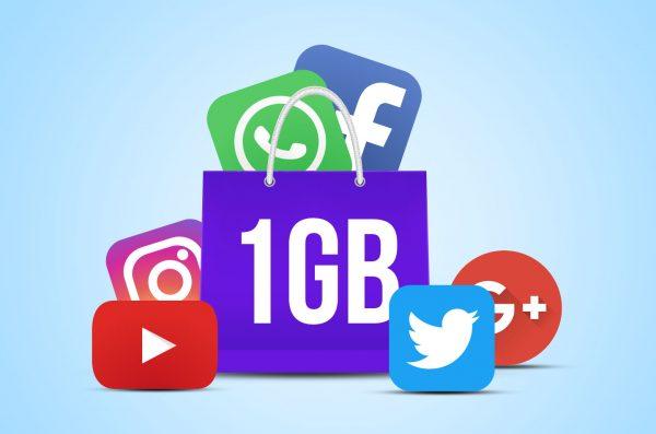 kapasitas penyimpanan data _isi_sosmed