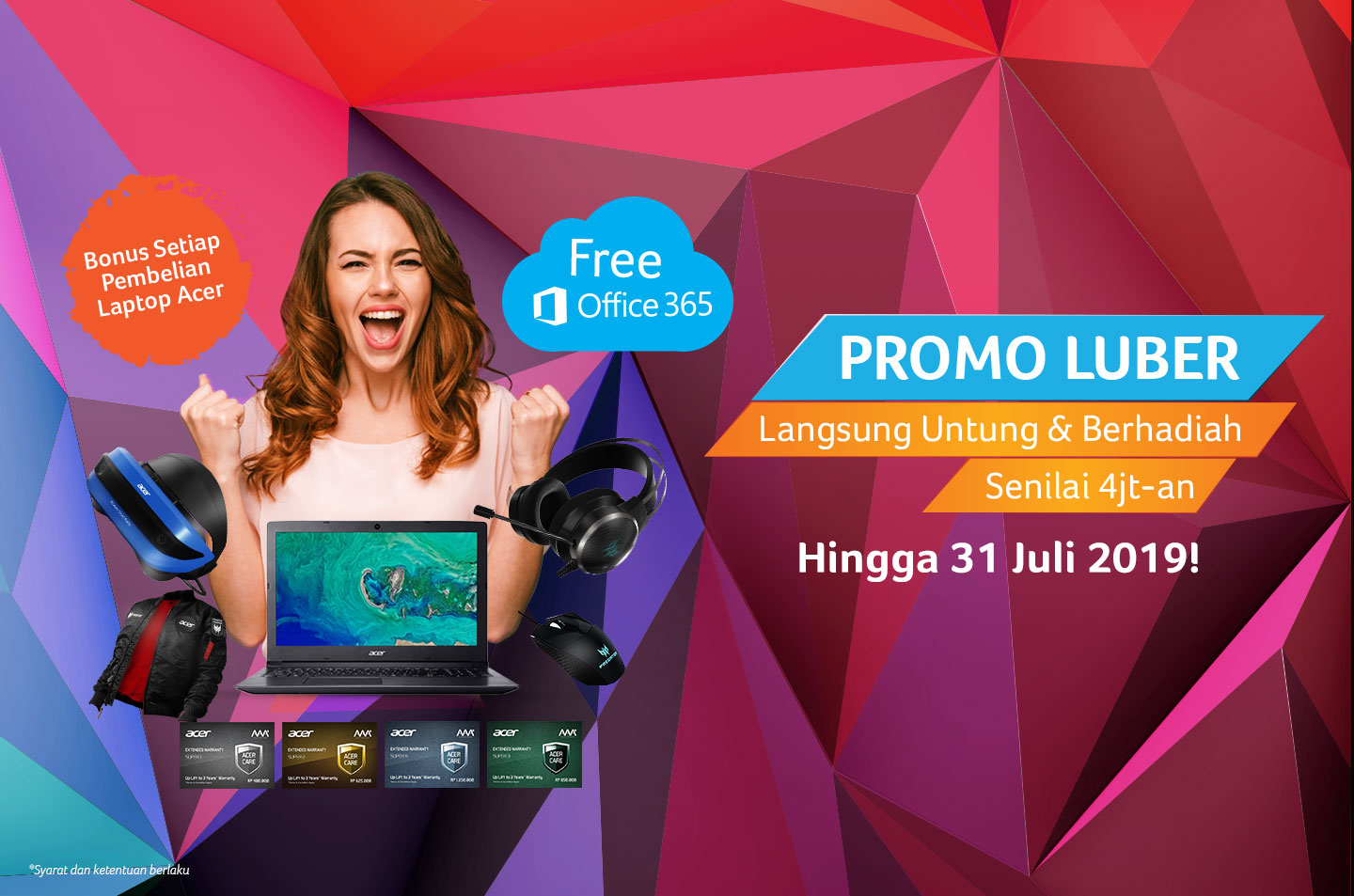 promo notebook acer