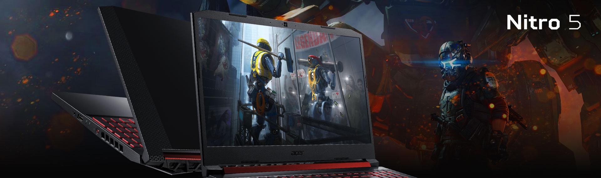 New Nitro 5 Intel 9th Gen Core i5, Berat Minim Berkapasitas Maksimal