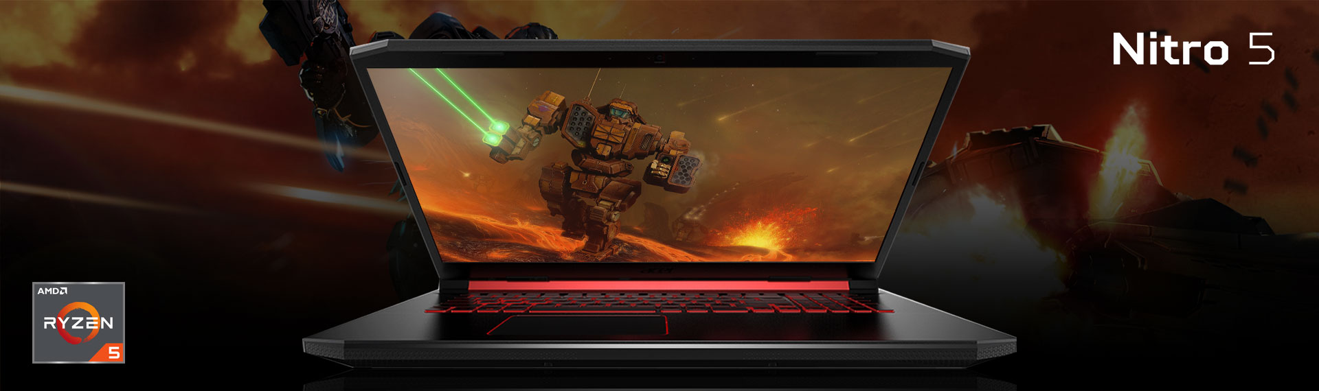 Laptop Gaming Nitro 5 Ryzen 5 3rd Generation dengan Kekuatan Multitasking