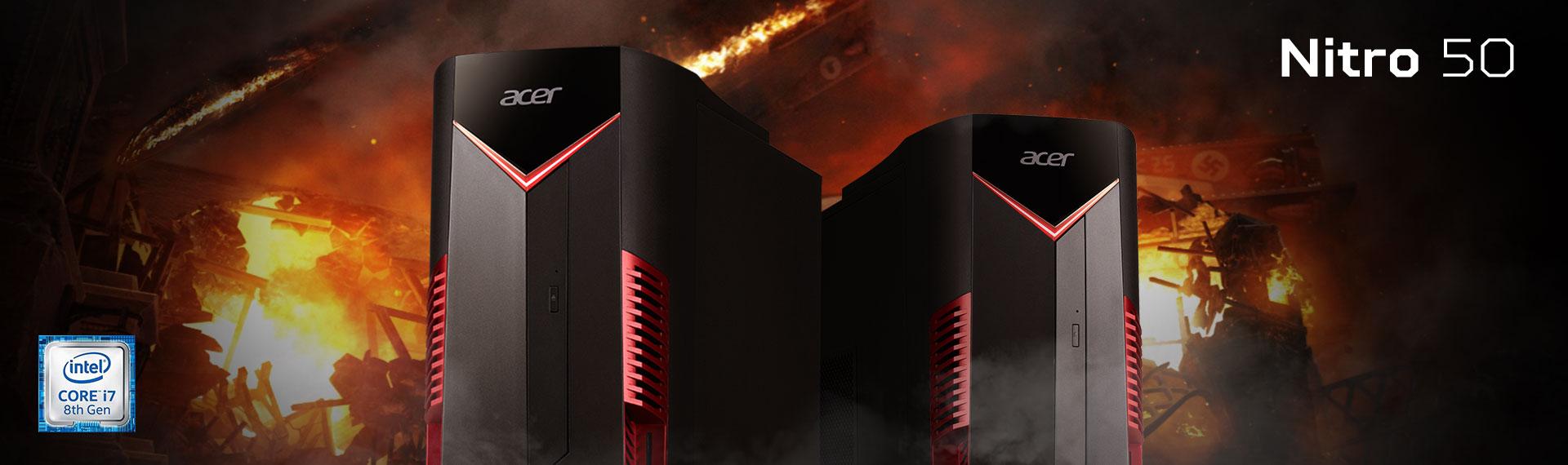 Nitro 50 (N50-600) Intel 8th Gen Siap Diajak Tempur Game Berat!