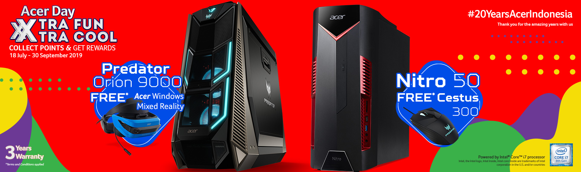 Produk Gaming Acer Day 2019 Banjir Hadiah Senilai Jutaan Rupiah!