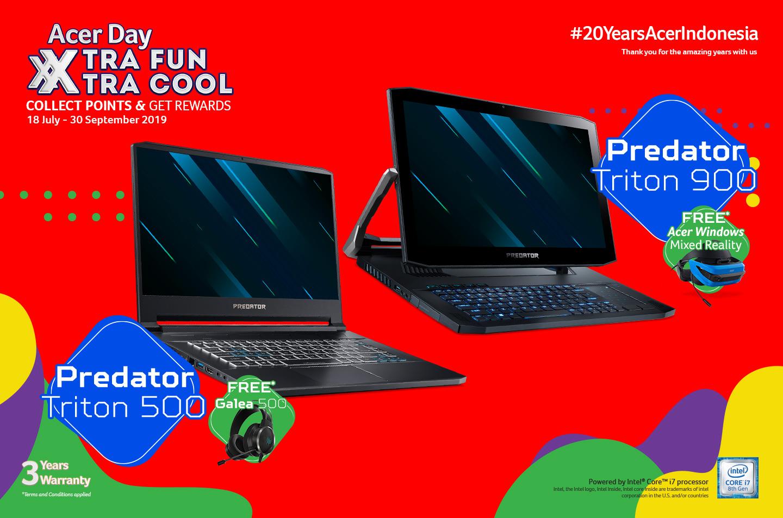 Promo produk gaming Acer