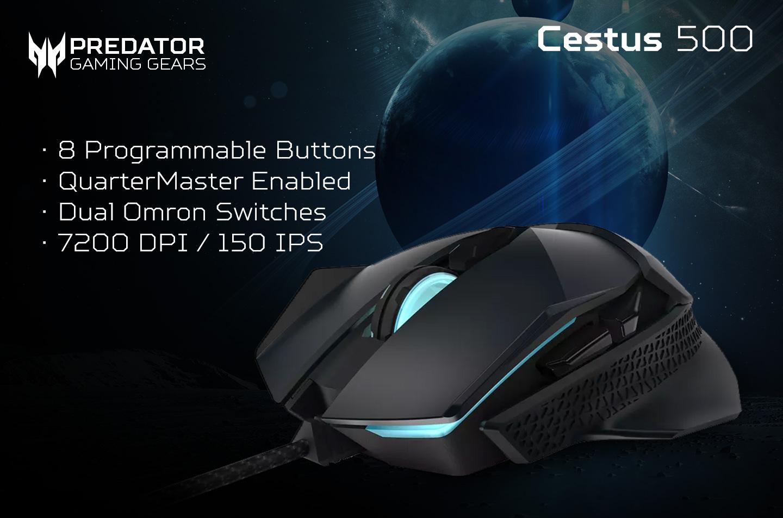 mouse gaming predator