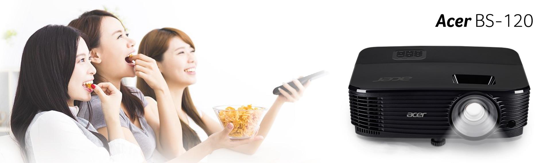 Acer Proyektor BS-120, Mendukung Konten 3D Berkualitas Maksimal