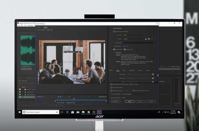 Desktop AIO Acer