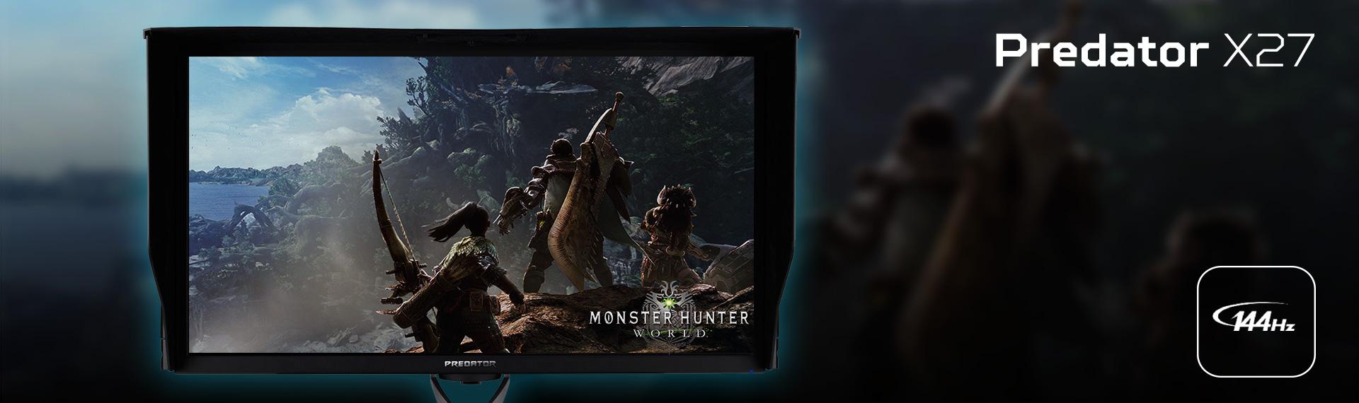 Monitor Predator X27, Menampilkan Visual Gambar Tajam dan Nyata