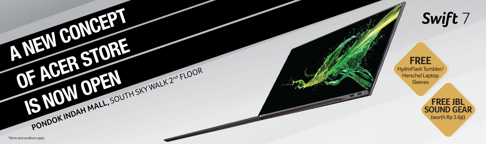Grand Opening Acer Exclusive Store di PIM, Dapatkan Promo Menarik!