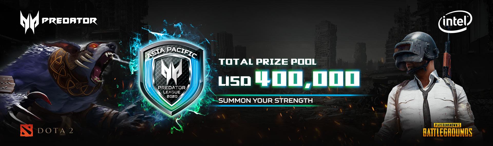 Segera Ikuti Online Qualifier di Predator League 2020 dan Raih Prize Pool Senilai USD 400.000!