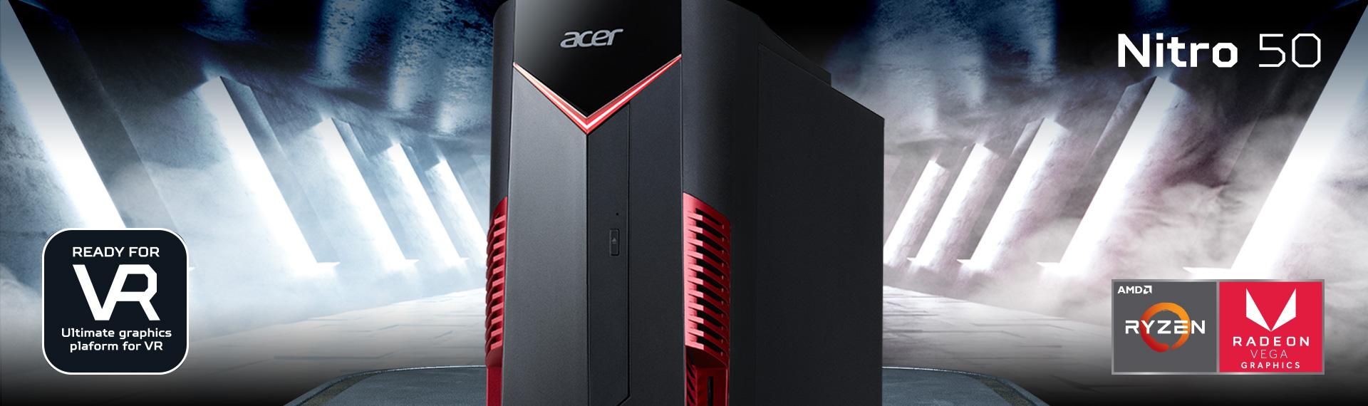 Nitro 50 AMD Ryzen 7, Desktop Gaming Ideal untuk Bertempur dalam Berbagai Game