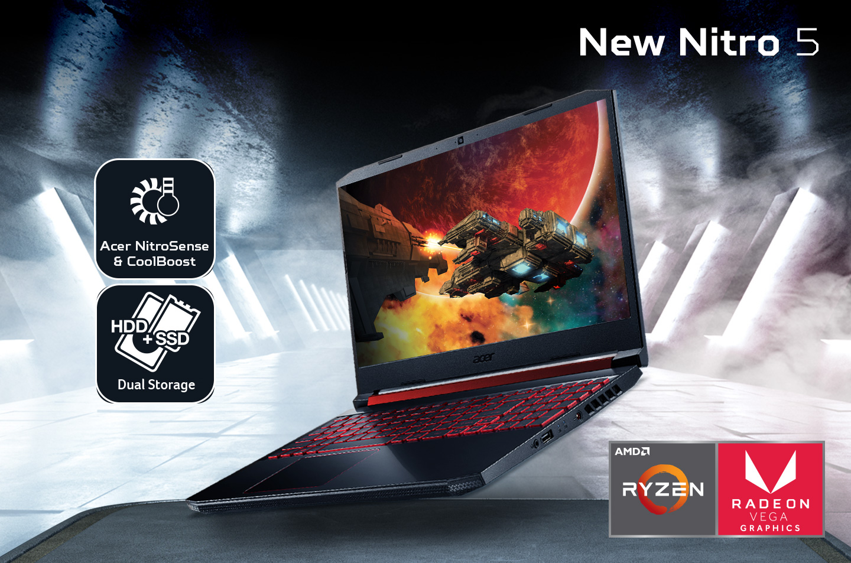 Nitro 5 AMD Ryzen 5