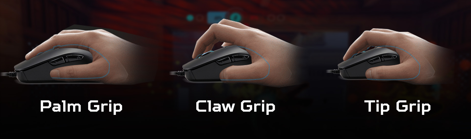 Image result for tips megang mouse Palm Grip