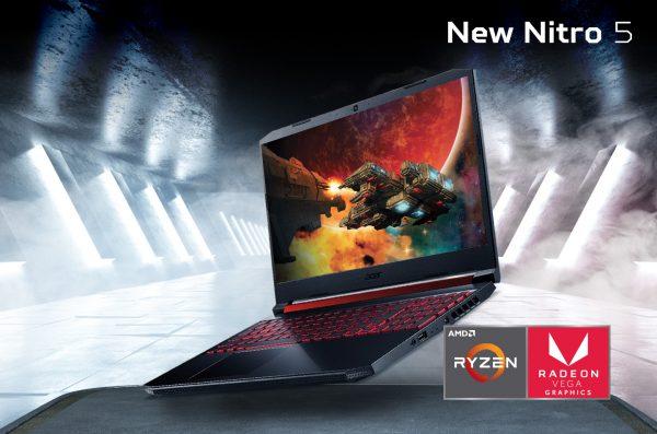 Nitro 5 dengan AMD Ryzen 3rd Generation Punya Grafis Gokil!