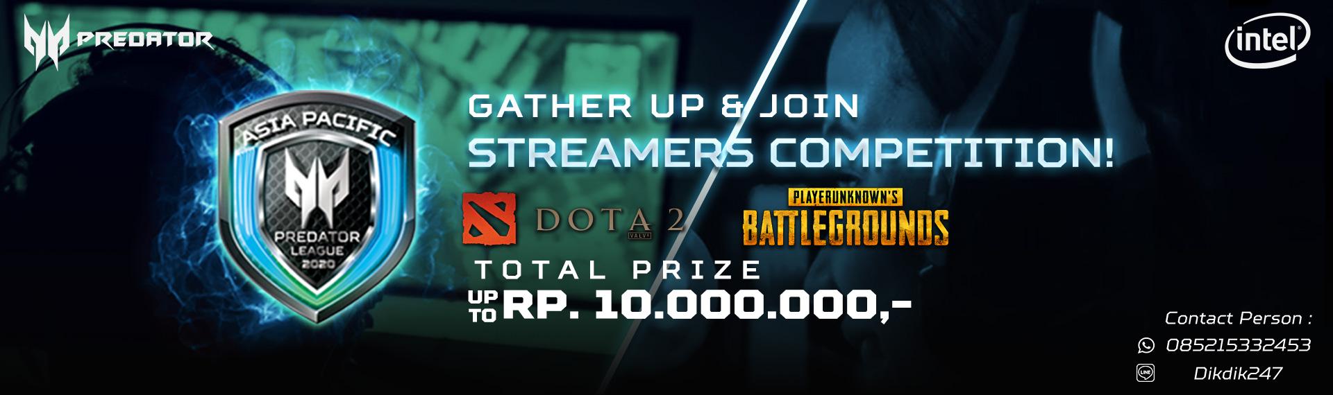 Ikuti Predator League 2020 Community Streamer Competition Berhadiah Hingga Rp10 Juta!