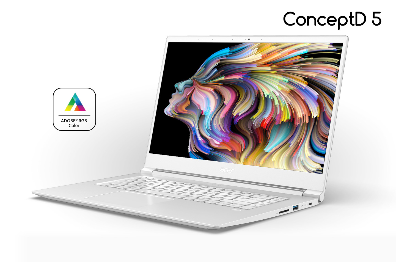 Laptop acer conceptD 5