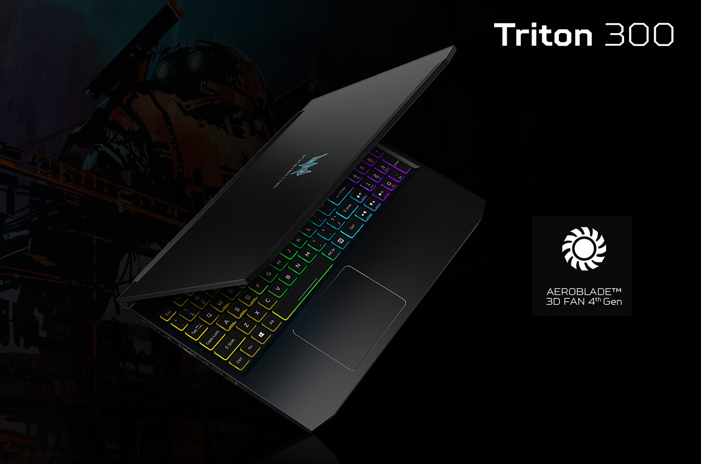 Review Predator Triton 300 - Cooling system