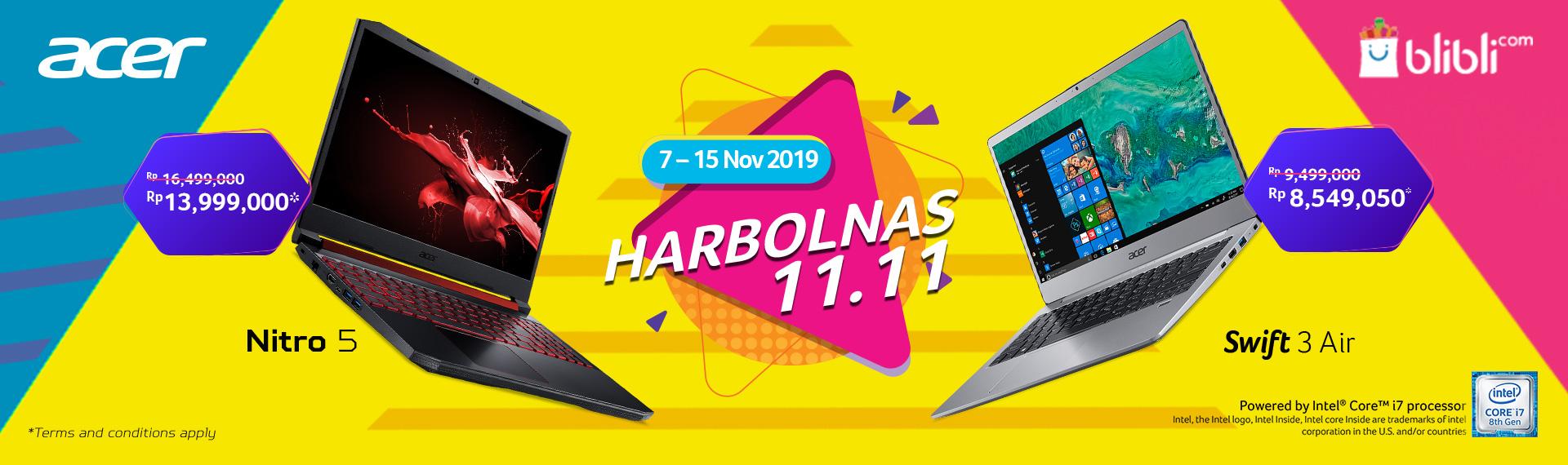Promo Gak Ada Lawan, Harbolnas 11.11 Cashback Hingga 2,5jt Rupiah Ekslusif di Blibli.com!