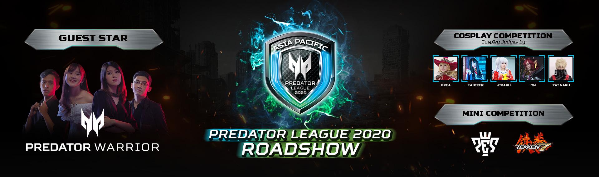 Ikuti Keseruan Roadshow Predator League 2020 di 5 Kota Besar Indonesia!