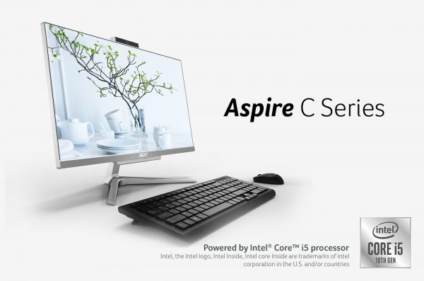 Aspire C Series Tawarkan Tenaga dengan Gaya Maksimal dengan prosesor Intel Generasi ke 10