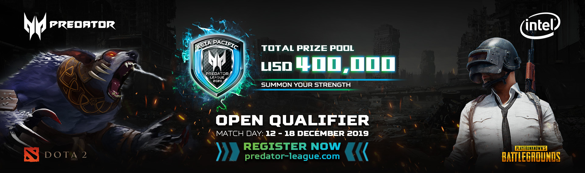 This is Your Last Chance to Win USD400.000! Predator League 2020 Open Online Qualifier Dibuka Kembali!