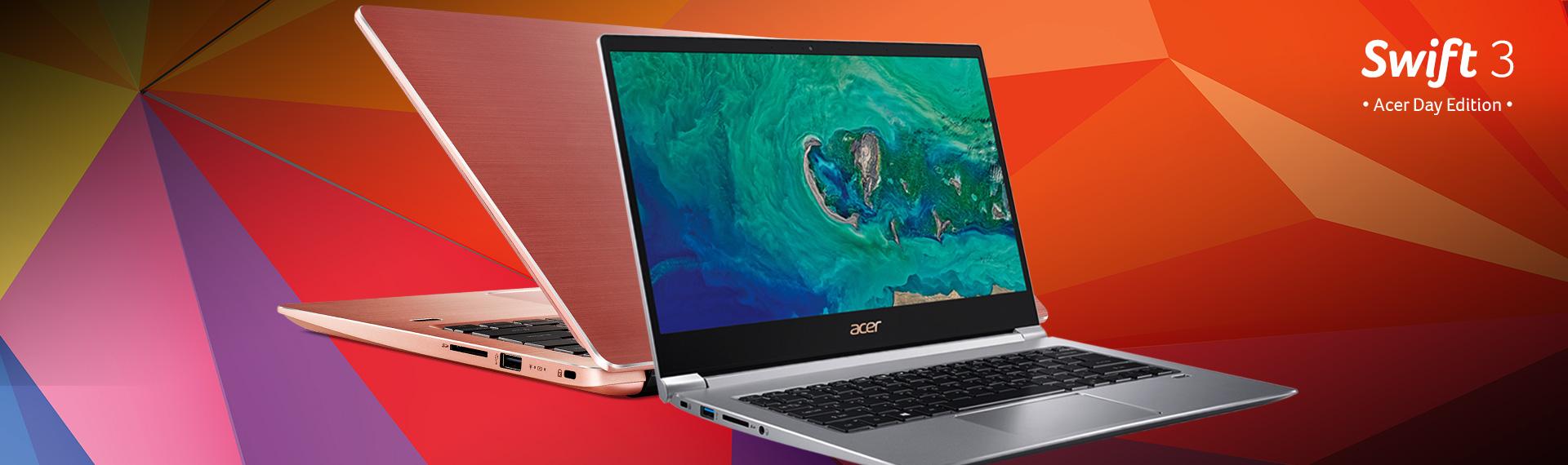 Swift 3 Acer Day Edition, Si Tipis Responsif dengan Performa Tinggi