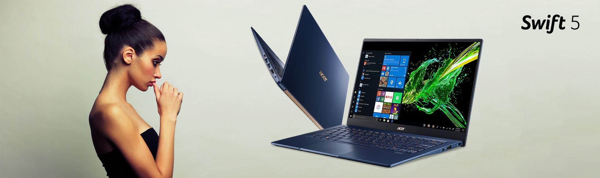 Swift 5 (SF514-53T), Andalan Kaum Urban yang Mendambakan Laptop Tipis dan Kuat