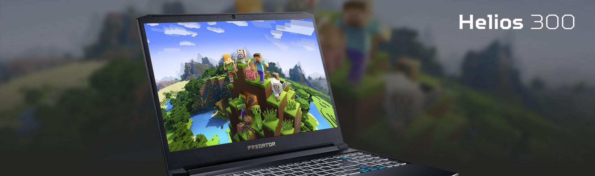 Kenapa Predator Helios 300 Sangat Kompatibel Untuk Game Minecraft? Ini Dia Jawabannya