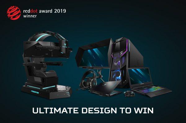 Acer dan Predator Menang Penghargaan Bergengsi Red Dot Brand Award 2019!