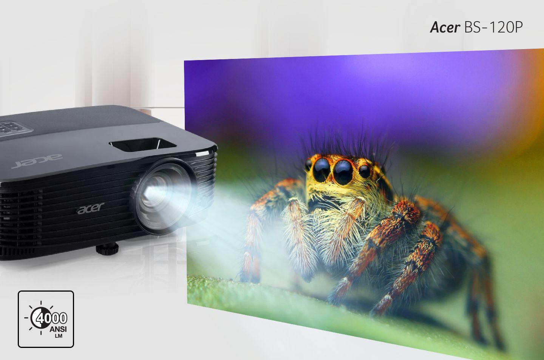 Acer Proyektor BS-120P - Inner Image (Lumens tinggi demi kepuasan kerja dan hiburan yang hakiki)