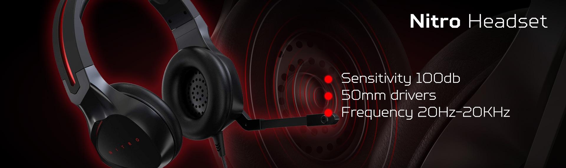 Headset Nitro yang Mampu Memberikan Suara Detail Maksimal