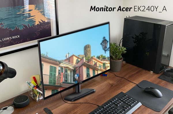 Monitor Acer EK240Y_A, Perpaduan Kecanggihan Teknologi dan Kenyamanan Beraktivitas