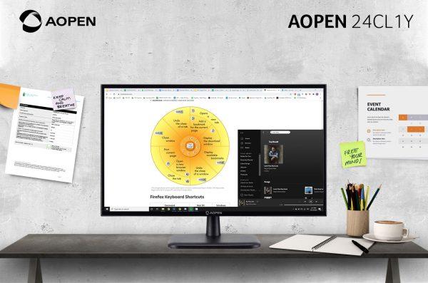 Monitor AOPEN 24CL1Y, Menawarkan Gambar dan Warna yang Detail
