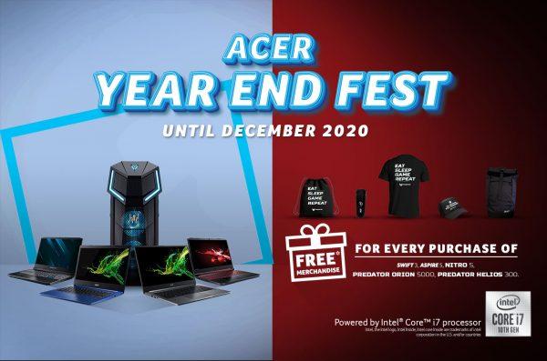 Acer Bagi-bagi Hadiah Menarik Setiap Pembelian di Acer Exclusive Store Tertentu dan Predator Store