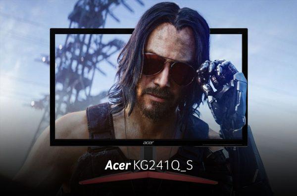 Acer KG241Q_S, Monitor Gaming Terjangkau, Kualitas Memukau