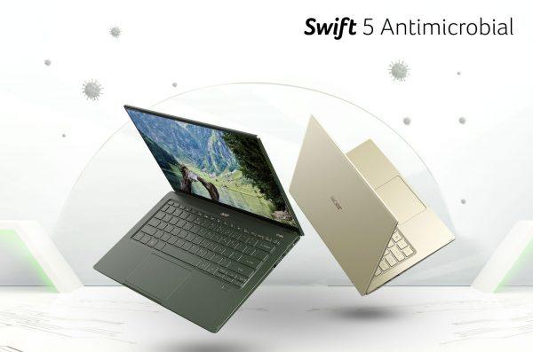 Acer Swift 5 Antimicrobial (SF514-55TA), Laptop Higienis dengan Performa Gesit!