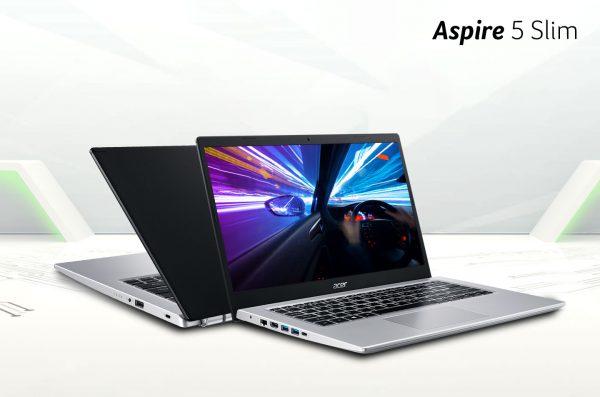 Laptop Aspire 5 Slim (A514-54/54G), Tipis dan Responsif untuk Mobilitas Tinggi
