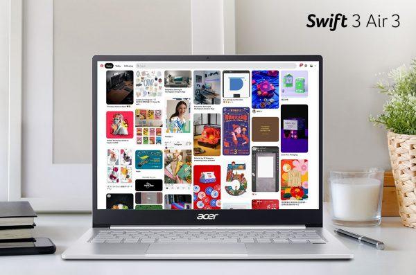 Laptop Swift 3 Air 3 (SF313-53), Laptop Tipis dengan Layar Unik Beresolusi 2K